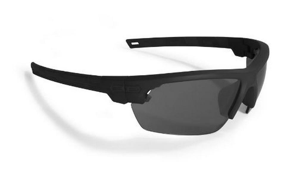 Epoch Eyewear Link Sunglasses with Smoke Lens Black