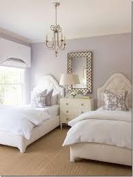 Ashley Goforth Design Lavender Room Elegant Twin Bedroom Teaspoonheaven