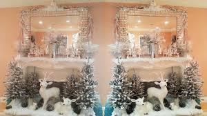 2017 Winter Mantle Decorations 2