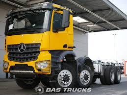 100 Mercedes 6 Wheel Truck Arocs 4151 AK Euro Norm 70400 BAS S