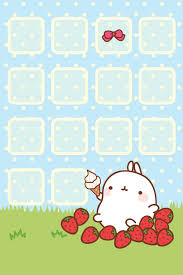 Hd Wallpapers For IPhone Cute Awesome Molang Theme Amp