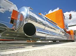 100 Semi Truck Exhaust Truck Pipe Close Up Low Angle View Stock Photo Getty