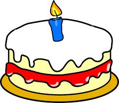 First Birthday Cake Clip Art