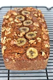 Whole Wheat Banana Nut Carrot Cake Bread