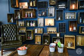 Unique Home Decorating Ideas Remarkable 10 Decor On How To Recycle Wooden Crates Design 19