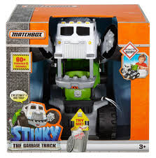 Matchbox Stinky The Garbage Truck - Toys