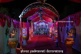 Reception Decoration In Open Place Indian Outdoor Wedding Stage Ideas Impressive
