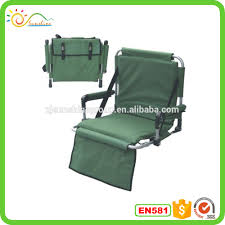 Deluxe Stadium Chair With Arms by Folding Stadium Seat Camping Floor Chair Folding Stadium Seat