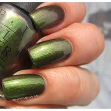opi gelcolor green on the runway opi from tailormade nails uk