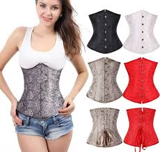 free shipping underbust waist training corset shop trendy world