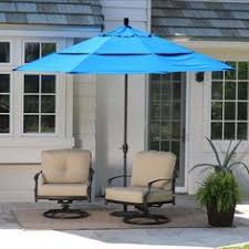 Mosquito Netting For 11 Patio Umbrella by 11 U0027 Steel Offset Patio Umbrella W Mosquito Netting For The Home