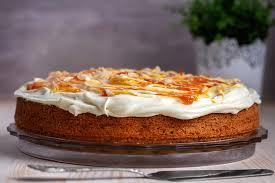 rezept karottenkuchen mit zentis 75 frucht und frischkäse