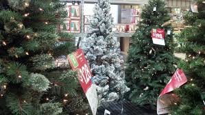 Walmart Fresh Cut Christmas Tree Prices Home Depot Trees Real For