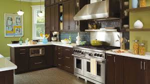 light grey shaker kitchen cabinets espresso shaker cabinet doors
