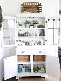 Home Organization How To Organize Your Dining Room Before The Holidays Organized Hutch Sideboard Organizatio