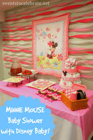 Baby Minnie Mouse Baby Shower Theme by Minnie Mouse Baby Shower Ideas Events To Celebrate