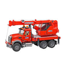 Bruder - 02826 | Construction: MACK Granite Crane Truck With Lights ... Bruder Man Fire Engine With Water Pump Light Sound For Our Mb Sprinter With Ladder And Tgs Tank Truck Buy At Bruderstorech Toys Mercedes Benz Ladderlights Man Water Pump Light Sound The 02480 Unimog Wth Amazoncouk Slewing Laddwater Pumplightssounds Mack Truck Minds Alive Crafts Books Super Bundling Big Sale 12 In Indonesia Facebook Bruder Land Rover Defender Preassembled Engine Model 116 Jeep Rubicon Rescue Fireman Vehicle Set