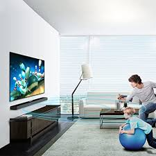 smart tv soundbar tv audio echo wand heim wohnzimmer theater