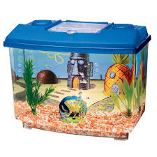 Spongebob Aquarium Decor Set by Penn Plax Spongebob Squarepants Aquarium Kit Hayneedle