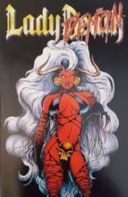 Image Is Loading Lady Death 11 Demon June 1995 Comic