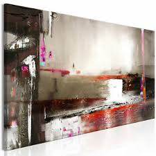 details zu leinwand bilder abstrakt malerei kunstdruck modern wandbilder wohnzimmer