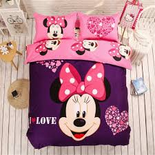 Minnie Mouse Bedroom Set Full Size by Online Get Cheap Minnie Mouse Twin Bedding Set Aliexpress Com