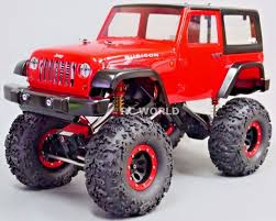 100 Custom Rc Trucks 110 RC JEEP WRANGLER RUBICON 4X4 22 Rock Crawler RTR RC