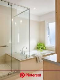 kleines bad mit badewanne und dusche fresh moderne glaswand