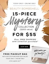 Today Only - Bare Minerals Mystery Box + Free Shipping! | MSA