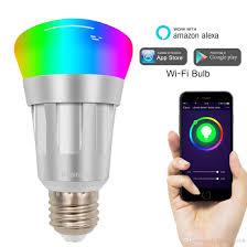 smart bulb wifi led light bulbs 6000k rgb multi color