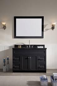 ariel hamlet 49 single sink vanity set with absolute black
