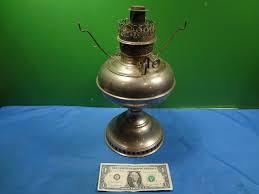 vintage 1905 nickel plated round wick rayco kerosene l base