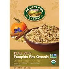 Organic Pumpkin Seeds Bulk by Nature U0027s Path Organic Flax Plus Pumpkin Flax Granola Cereal 35 3 Oz