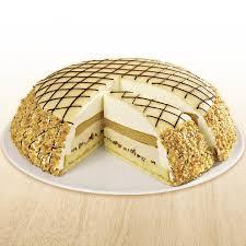 marzipan amaretto torte ungeschnitten froneri schöller