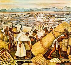 David Alfaro Siqueiros Murales Bellas Artes by Diego Rivera Mercado De Tlatelolco Tenochtitlan Antes De Ser