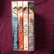 The Selection Box Set Elite One Heir By Kiera Cass