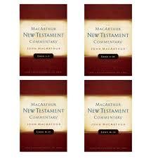 Set Of Luke 1 5 6 10 11 17 18 24 MacArthur New Testament Commentary
