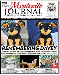 Remembering Davey By Montecito Journal