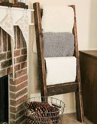 See How To Make A Wood Pallet Towel Ladder By Going The Home Dzine Site For Tutorial