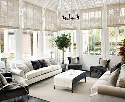 Elegant Steves Blinds Look London Contemporary Sunroom Image Ideas With Area Rug Conservatory Glamorous