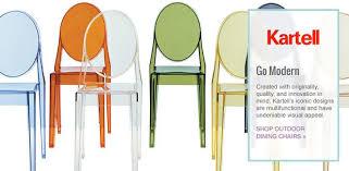 Wayfair Patio Dining Chairs by Kartell Wayfair