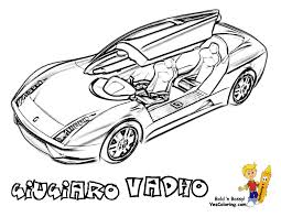 Giugiaro Vadho Automobile Door To Print At YesColoring