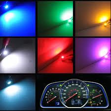 100 Interior Truck Lighting Car Lamps 10Pcs Car LED T3 Dashboard