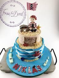 piraten torte zum 4 geburtstag frau fon dant