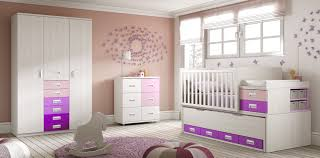 chambre pour bébé lit pour bébé évolutif surélevé bc30 avec armoire glicerio so nuit