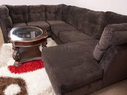 Poundex 3pc Sectional Sofa Set by Living Room Suede Sofa Beautiful Poundex Bobkona Prissy Waffle
