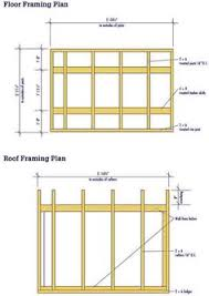 lean to shed plans free full instructions garage storage