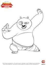 Kung Fu Panda Pandas Coloring Pages Birthdays Bear Bears