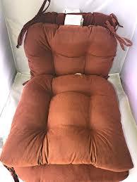 Amazon.com : Brentwood Warm Chocolate Seat Cushions - Set Of ...