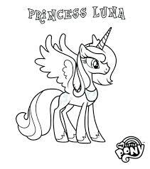 My Little Pony Friendship Is Magic Coloring Sheets Pages Rarity Pictures